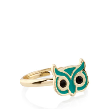 Owl Ring | Blue | Accessorize