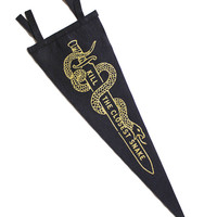 Kill The Closest Snake Pennant