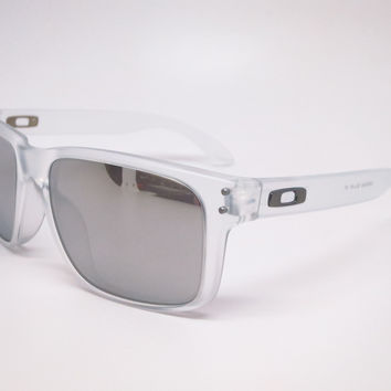 Oakley Holbrook OO9102-A2 Matte Clear Sunglasses