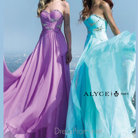 Beaded Sweetheart Neckline Formal Prom Gown By Alyce Paris 6426