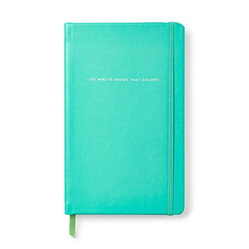 """Kate Spade Large Notebook """" It's what's inside that counts"""""""