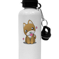 Kawaii Puppy Aluminum 600ml Water Bottle