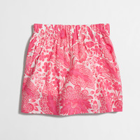 Factory printed pocket skirt : Mini & A-Line | J.Crew Factory