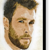 A Tribute To Chris Hemsworth Canvas Print / Canvas Art by Dusan Naumovski
