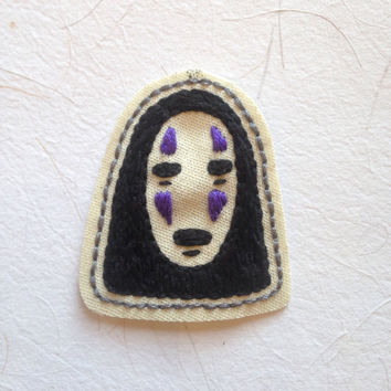 No-face Chihiro Spirited Away patch