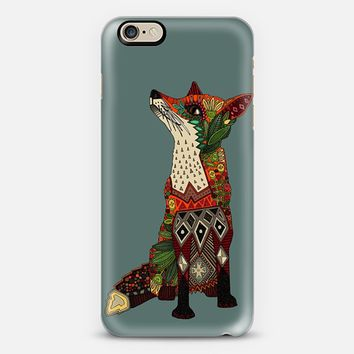 fox love juniper iPhone 6 case by Sharon Turner | Casetify
