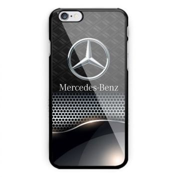 Mercedes Benz Logo Sports For iPhone 6 6s 7 8 Plus Hard Plastic Protector Case