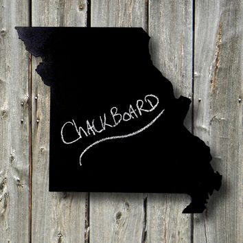 Mini Chalkboard / State Shaped Blackboard, Any US State: Mini Size