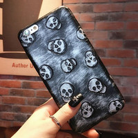 Retro Style Skull iPhone 6 6s Case Cover