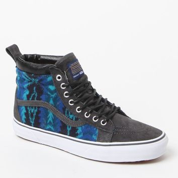 Vans - Pendleton SK8-Hi MTE Blue Shoes - Mens Shoes - Blue