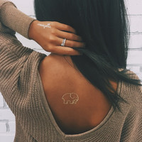 Ivory Ella Gold Flash Tattoos