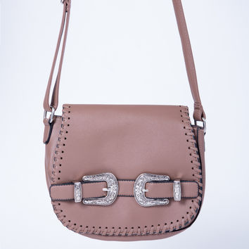 Buckled Western Bag