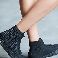 Converse Womens Elevated Woven Chucks