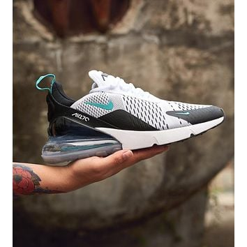 Nike Air Max 270 Flyknit Trending Women Men Casual Air Cushion Sports Running Shoe Sneakers I-AHXF