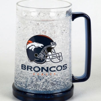 16Oz Crystal Freezer Mug NFL - Denver Broncos