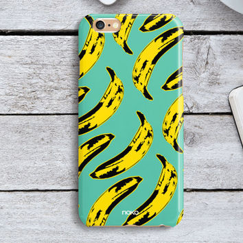 NOKO Colourful Pop Art iPhone 6 Case,Banana iPhone 6s case, Mint iPhone 6 Plus Case, iPhone 6s plus case