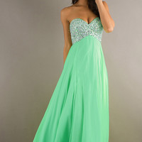 2013 Prom Dresses Empire Sweetheart Chiffon With Rhinestone ML-93023,New Prom Dresses