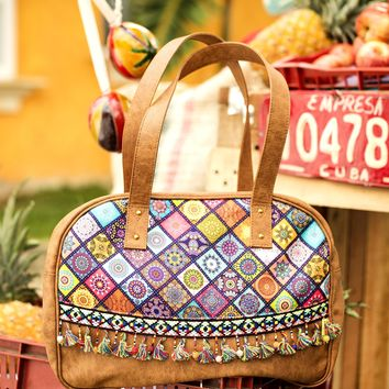 Mar Dulce Fringe Bag