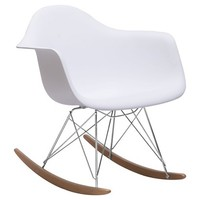 Zuo Rocket Occasional Chair - White
