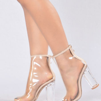 The Mel Boot - Transparent