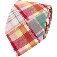 Patchwork Madras Tie in Tucker's Point by Just Madras