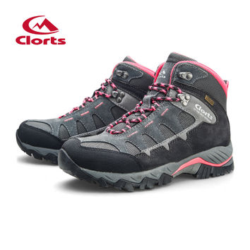 Clorts  Hiking Boots for  Breathable Mountain Boots Waterproof Climbing Outdoor Shoes HKM-823E/F