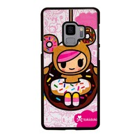 TOKIDOKI DONUTELLA Samsung Galaxy S4 S5 S6 S7 S8 S9 Edge Plus Note 3 4 5 8 Case Cover