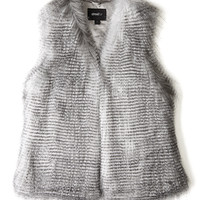 I'll Take You Faux Fur Vest by Unreal Fur