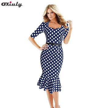 fa5a1ee04b Best Polka Dot Fitted Dress Products on Wanelo