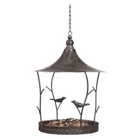 Birds and Twigs Rustic Birdfeeder