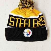 '47 Brand Pittsburgh Steelers Calgary Beanie- Yellow One