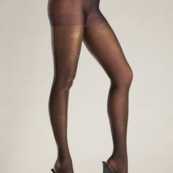 Be Wicked Lingerie BW688GD Pantyhose