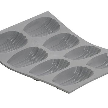 de Buyer Silicone Madeleine Mold - 6 Portions