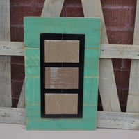 "PIcture Frame displays  3- 4"" x 6"" ... Modge Podge Ready"