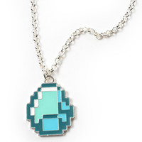 Minecraft Diamond Necklace
