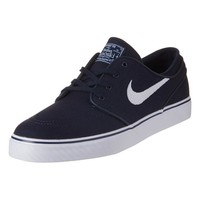 - MENS ZOOM STEFAN JANOSKI CANVAS TRAINERS BY NIKE SB IN OBSIDIAN