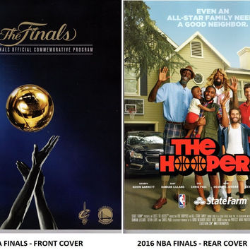 2016 NBA FINALS CHAMPIONS PROGRAM CLEVELAND CAVALIERS CHAMPS CAVS LeBRON JAMES- Free Shipping