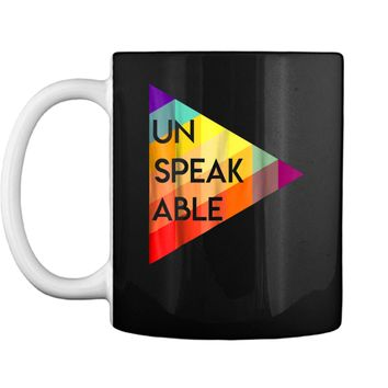 Un-Speak-Able  Video Gaming Tee For Men Women Kids Mug