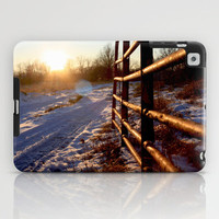 Winter on the Farm iPad Case by Trinity Bennett