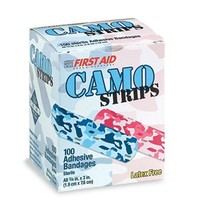 Camo Strips First Aid Band-Aid Bandages