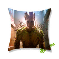 Groot Guardian Of The Galaxy Square Pillow Cover
