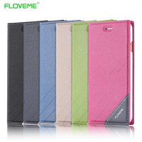 Brand FLOVEME 7 Plus Case Elegant Original Leather Case For iPhone 7 Plus 5.5 Flip Wallet With Card Slot Stand Cellphone Cover