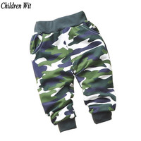 spring&autumn Lovely cotton children Camouflage pants newborn Baby boy pants baby girl pants baby clothing 0-2 year baby pants