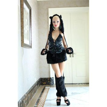 DCCK0OQ Halloween Costume Animal Cosplay Custome Club Uniform [8978917895]