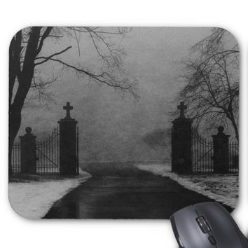 Gates of Death Mouse Pad MotheCrow
