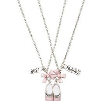 Bff Ballet Shoe Necklaces | Girls Jewelry Accessories | Shop Justice