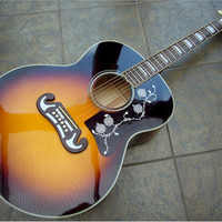 Beautiful designed Electro Acoustic Guitar