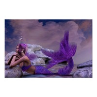 Mystic Siren Fantasy Mermaid Artwork