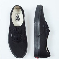 Vans High Quality White/Black Canvas Skate Shoes