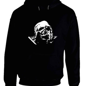 Star Wars The Force Awakens Darth Vader Broken Helmet Hoodie